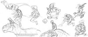 Yarek-K'aloo sketches by marimoreno