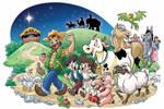 Uncle Pepe's Farm Posada by marimoreno