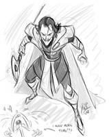 Loki Sketch by marimoreno