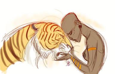 Tiger by marimoreno