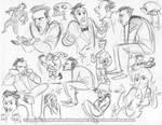 Anthony Marshall Sketchdump by marimoreno