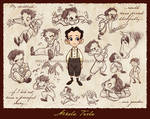 Little Nikola Tesla by marimoreno