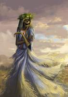 Noonwraith (The Witcher 3 fanart) by Oksymoron31
