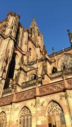 Strasbourg Cathedral by blaueNixe