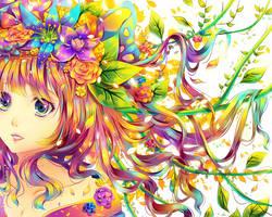 Flower Dance by Raayzel