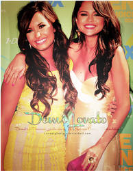 Demi and Selena by loveelydesigns