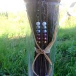 Lavender Earrings by wildgica