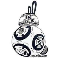 BB-8 Bunny by wildgica
