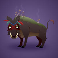 Wild Boar by wildgica