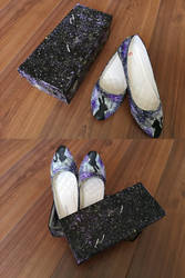 Bunny+Cat Shoes by wildgica