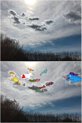 Clouds by wildgica