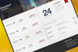 UI Web Design by dev-john