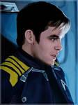Captain Kirk by okamilota