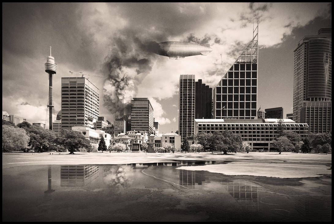 Sydney in distress by subaqua