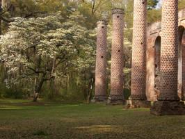 Sheldon Church Ruins 4 by Mourge-stawk