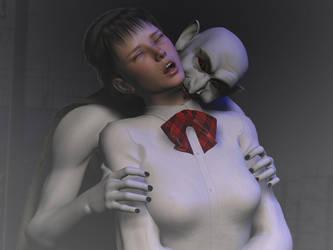 Kiss of the vampire-4- by yamiyo0117