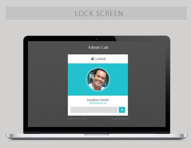 Lock Screen by vectorlab1