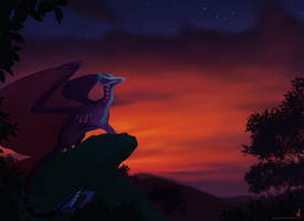 Nightfall by dschunai