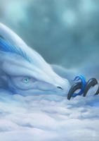 Ice Dragon by dschunai