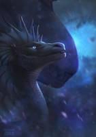 cosmic blue by dschunai