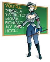 Grammar Nazi by Hawkstone