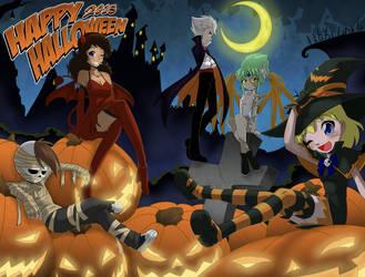 Left Below Halloween by senji-comics