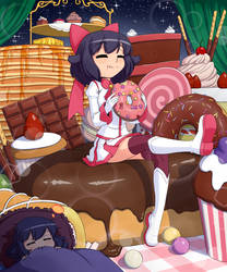 Ellys Cake World by senji-comics