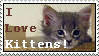Kitty Stamp by Busiris