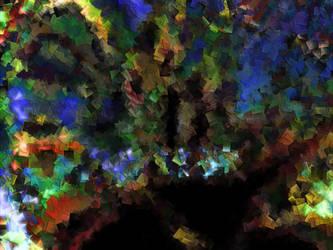 Cubism Explosion of Color by joshhunsaker