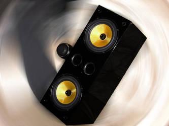 Stylized Speaker 1 by joshhunsaker