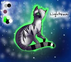 Lightpaw Ref Sheet by ForgottenTomorrow