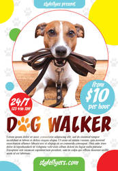 Dog-walker by Styleflyers