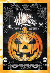 Halloween-Party by Styleflyers