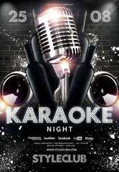 Karaoke-night by Styleflyers
