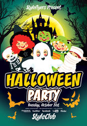 kids-Halloween-Party by Styleflyers