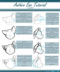 Anthro Ear Tutorial by AlliNix