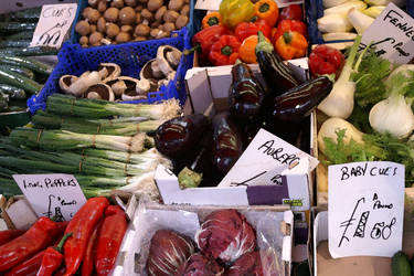 Portobello Road vegetable market by bobcraton