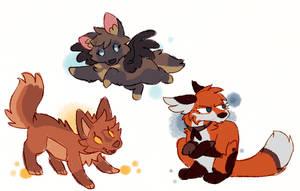 Scribbles - Firefox - Chai - Legend by CrunchyCrowe