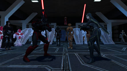 Sith Training by GmodJo