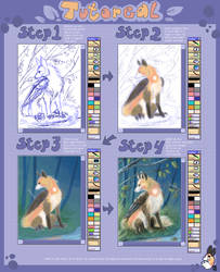 Snuffen water colour tutorial by griffsnuff