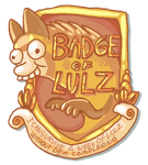 Badge of Lulz by griffsnuff