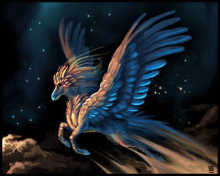 Pegasus by griffsnuff