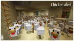 Minecraft Chicken madness by griffsnuff