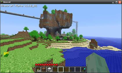 Minecraft alpha by griffsnuff