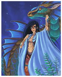 Serpent spirit by griffsnuff