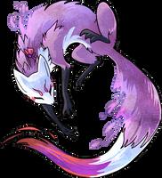 Violet vixen by griffsnuff