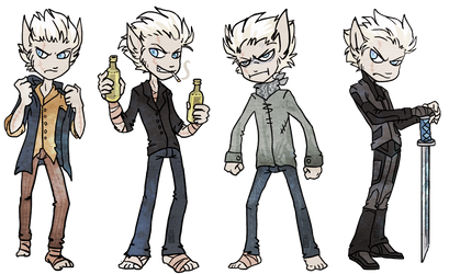 William outfits by griffsnuff
