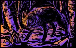 Wolf by griffsnuff