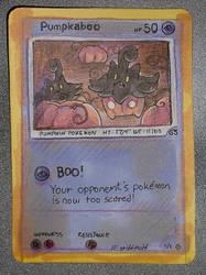 pumkpaboo pokemon card doodle by griffsnuff