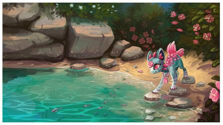 Nekoi lagoon by griffsnuff